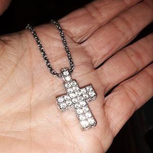 Swarovski Jewelry - Genuine SWAROVSKI crystal cross necklace pendant